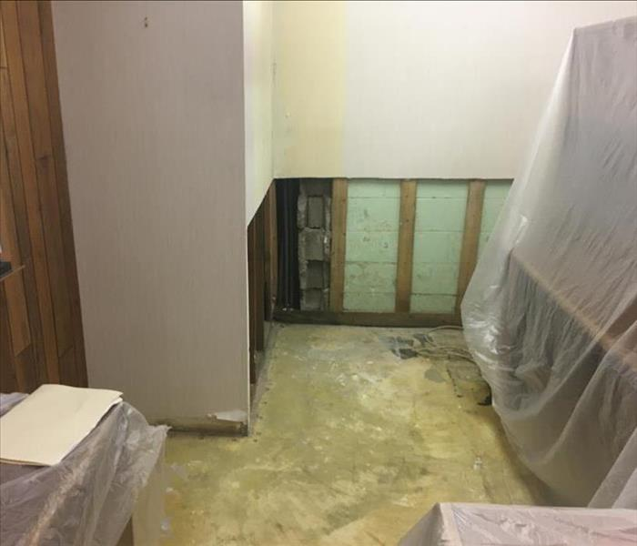 Commercial Mold Remediation in Fayetteville Before