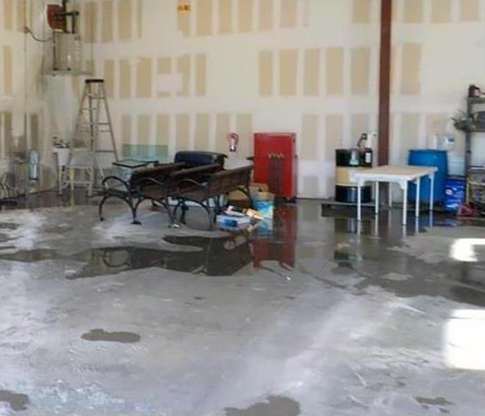 Commercial Water Damage Restoration In Springdale Before