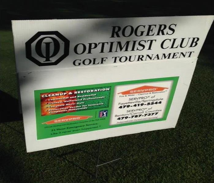 The Rogers Optimist Club Golf Benefit