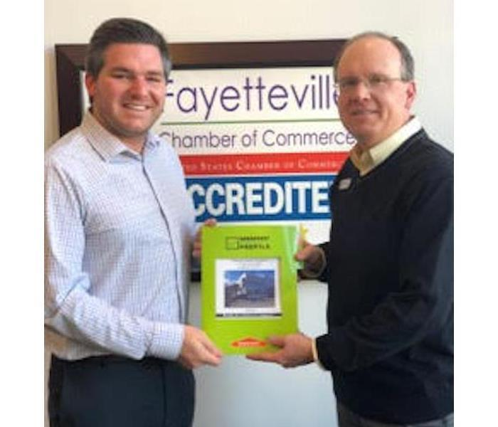 ERP Profile Presented to Fayetteville Chamber Member