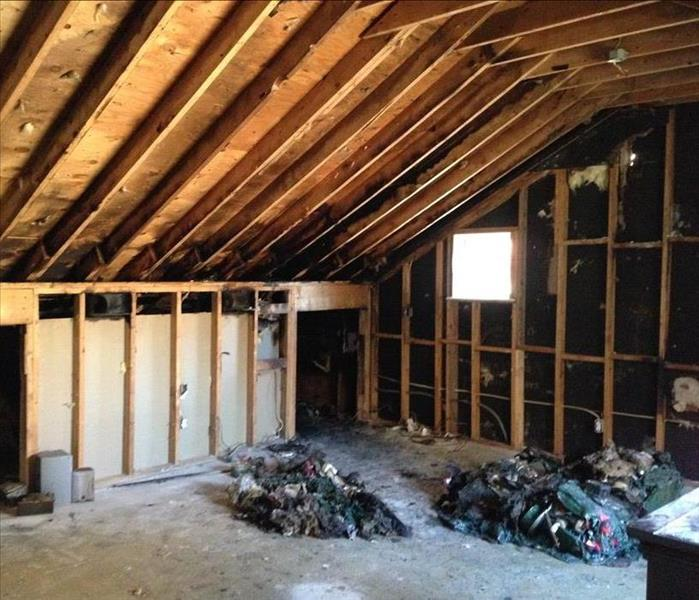 Fire Damage SERVPRO Can Restore Fired Damaged Properties in Springdale Reeking of Odors