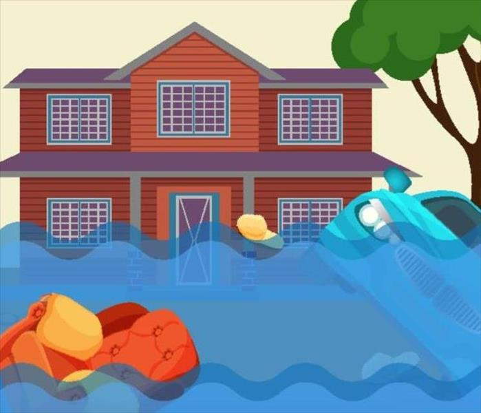 Water Damage Water Removal Process in Johnson