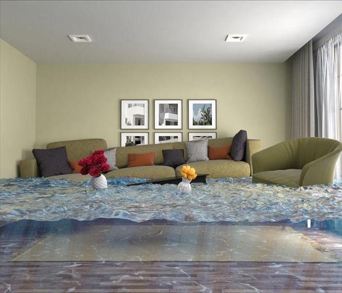 Storm Damage When Flood Waters Arise, SERVPRO Will Respond With A Lending Hand