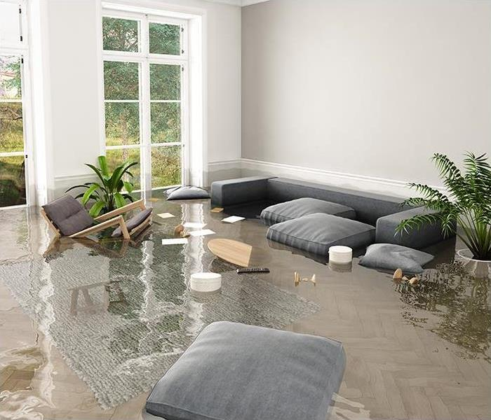 Storm Damage The Advantages Of Hiring SERVPRO After A Flood In Your Johnson Home